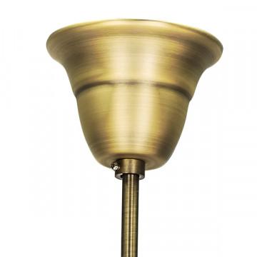 Подвесная люстра Lightstar Osgona Schon 790111, 11xE14x60W, бронза, прозрачный, металл с хрусталем, хрусталь - миниатюра 2