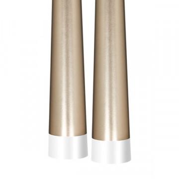 Люстра-каскад Lightstar Punto 807063, 6xG9x25W, хром, матовое золото, металл - миниатюра 7