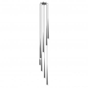 Люстра-каскад Lightstar Punto 807084, 8xG9x25W, хром, металл