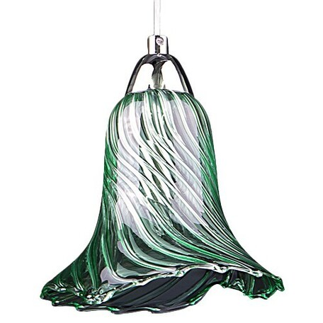 Подвесной светильник Lightstar Colore 796014, 1xG9x40W, хром, зеленый, металл, стекло - миниатюра 1