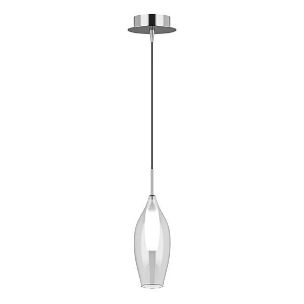 Подвесной светильник Lightstar Pentola 803021, 1xG9x25W, хром, прозрачный, металл, стекло - фото 1