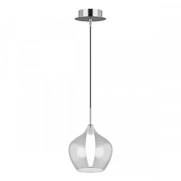 Подвесной светильник Lightstar Pentola 803041, 1xG9x25W, хром, прозрачный, металл, стекло
