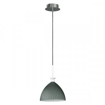 Подвесной светильник Lightstar Agola 810021, 1xE14x40W, хром, серый, металл, стекло