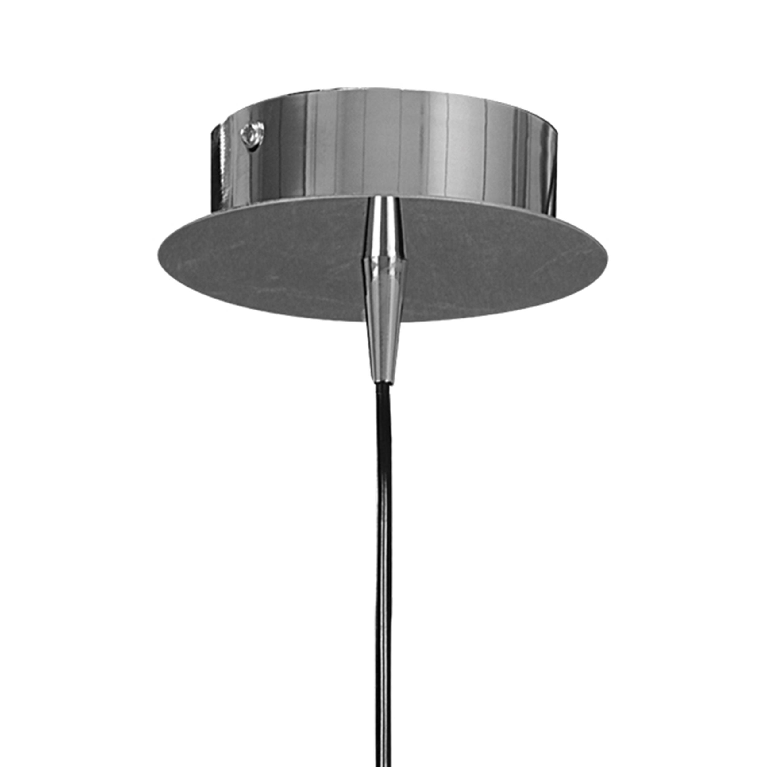 Подвесной светильник Lightstar Agola 810023, 1xE14x40W, хром, оранжевый, металл, стекло - фото 3
