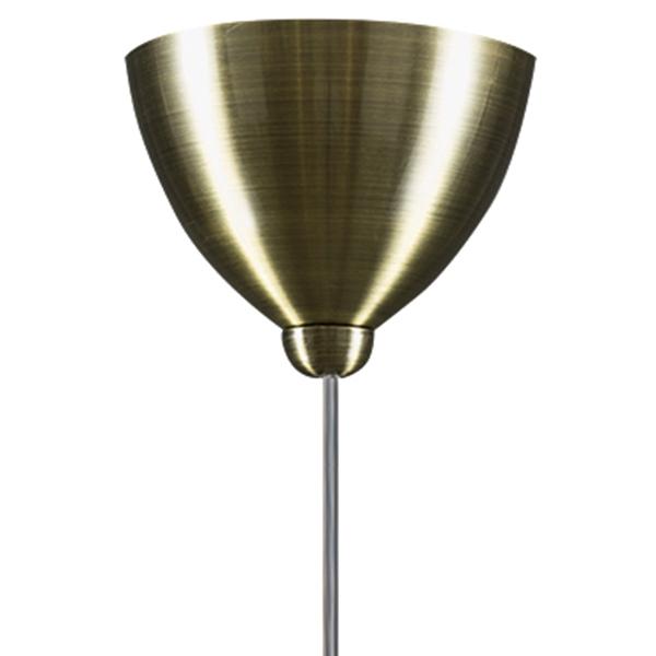 Подвесной светильник Lightstar Globo 813011, 1xE14x40W, бронза, белый, металл, стекло - фото 3