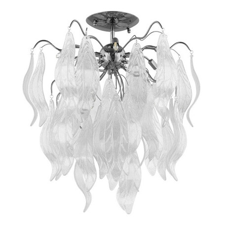 Потолочная люстра Lightstar Vetro Cristallo 793094, 9xG9x40W, хром, прозрачный, металл, стекло