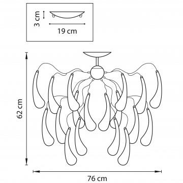 Схема с размерами Lightstar 794124