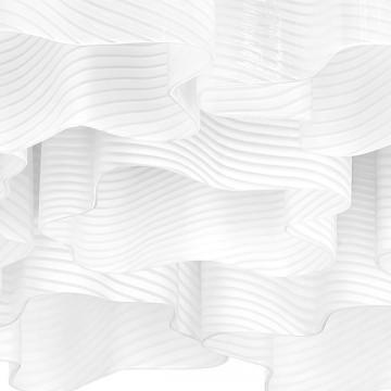 Потолочная люстра Lightstar Nubi Ondoso 802091, 9xE27x40W, матовый хром, белый, металл, стекло - миниатюра 4