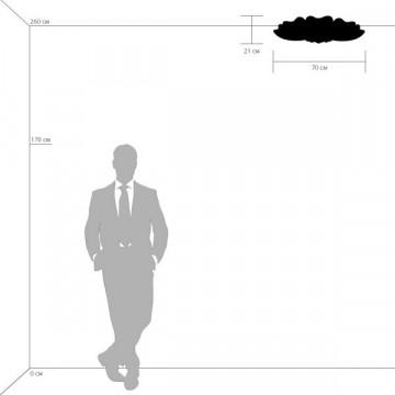 Потолочная люстра Lightstar Lobo 804040, 9xG9x40W, хром, белый, прозрачный, металл, стекло, хрусталь - миниатюра 3