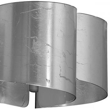 Потолочная люстра Lightstar Pittore 811034, 3xE27x40W, серебро, металл, стекло - миниатюра 3
