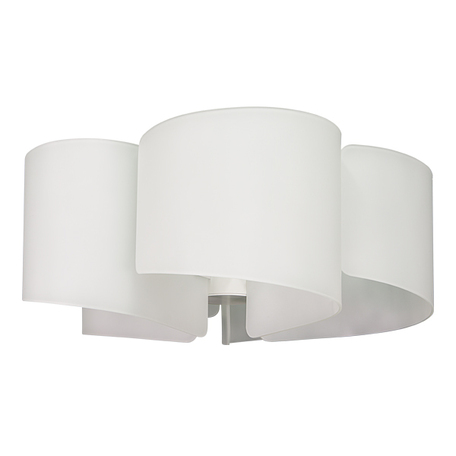 Потолочная люстра Lightstar Pittore 811050, 5xE27x40W, белый, металл, стекло