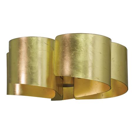 Потолочная люстра Lightstar Pittore 811052, 5xE27x40W, матовое золото, металл, стекло