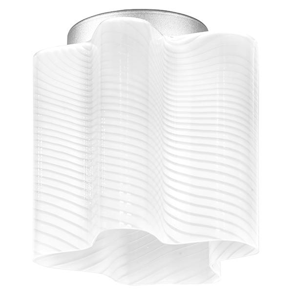 Потолочный светильник Lightstar Nubi Ondoso 802011, 1xE27x40W, матовый хром, белый, металл, стекло - фото 1