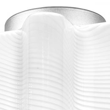 Потолочный светильник Lightstar Nubi Ondoso 802011, 1xE27x40W, матовый хром, белый, металл, стекло - миниатюра 3