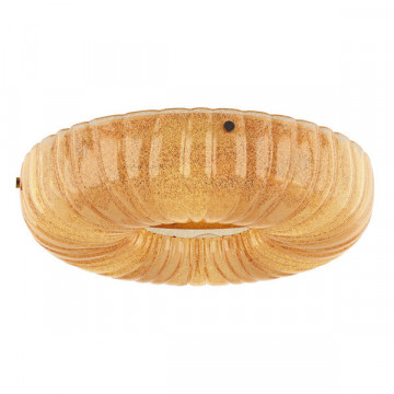 Потолочный светильник Lightstar Zucche 820363, 6xE14x60W, золото, янтарь, металл, стекло