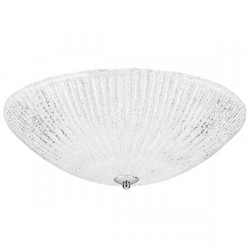Потолочный светильник Lightstar Zucche 820840, 4xE27x60W, хром, белый, металл, стекло