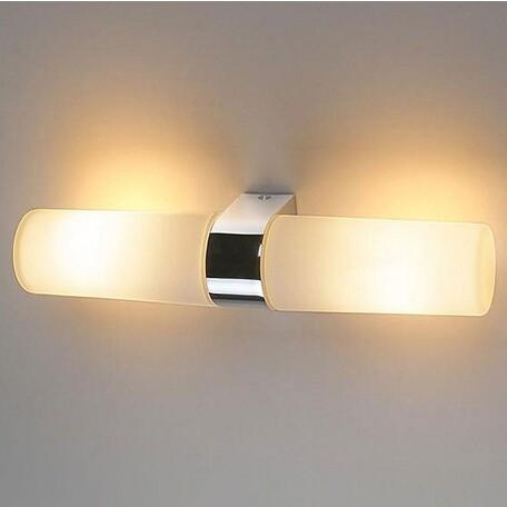 Настенный светильник Eurosvet 1242 Round 2х42W хром, 2xE14x40W