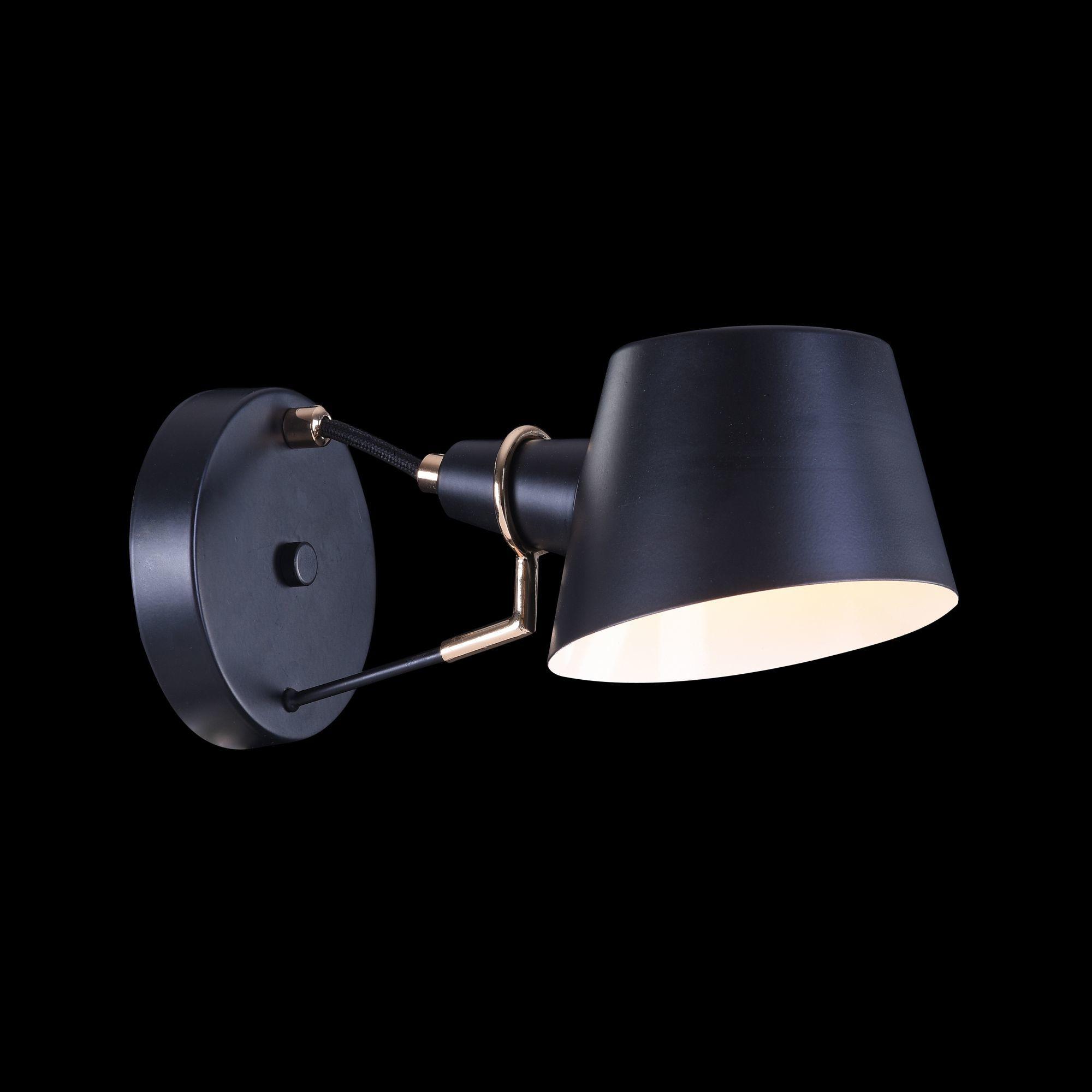 Бра Freya Abigail FR5038-WL-01-B, 1xE14x40W, черный, металл - фото 3
