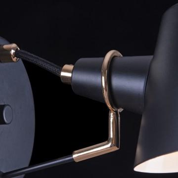 Бра Freya Abigail FR5038-WL-01-B, 1xE14x40W, черный, металл - миниатюра 5
