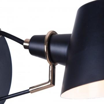 Бра Freya Abigail FR5038-WL-01-B, 1xE14x40W, черный, металл - миниатюра 8