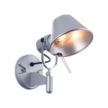 Настенный светильник с регулировкой направления света Freya Carla FR5173-WL-01-S, 1xE27x60W, серый, металл