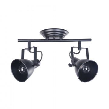 Потолочный светильник с регулировкой направления света Freya Ibbi FR4276-CW-02-B, 2xE14x40W, черный, металл - миниатюра 2