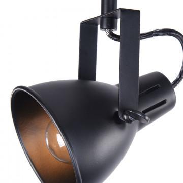 Потолочный светильник с регулировкой направления света Freya Ibbi FR4276-CW-02-B, 2xE14x40W, черный, металл - миниатюра 4