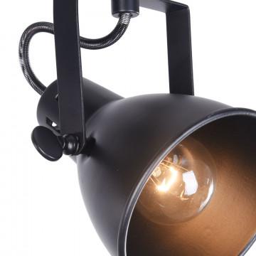 Потолочный светильник с регулировкой направления света Freya Ibbi FR4276-CW-02-B, 2xE14x40W, черный, металл - миниатюра 5