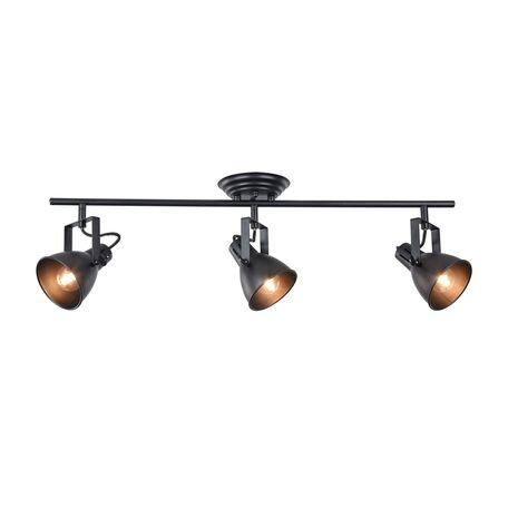 Потолочный светильник с регулировкой направления света Freya Ibbi FR4276-CW-03-B, 3xE14x40W, черный, металл