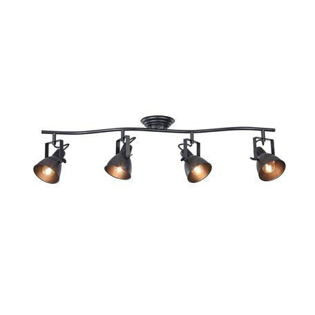 Потолочный светильник с регулировкой направления света Freya Ibbi FR4276-CW-04-B, 4xE14x40W, черный, металл