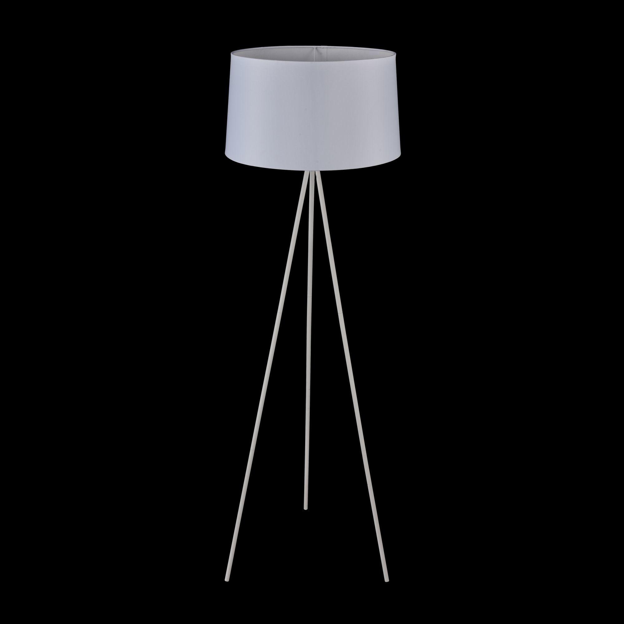 Торшер Freya Bonita FR5152-FL-01-W, 1xE27x40W, белый, металл, текстиль - фото 2