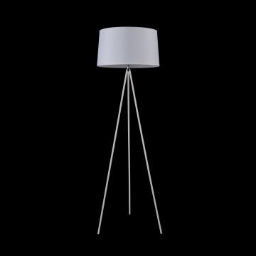 Торшер Freya Bonita FR5152-FL-01-W, 1xE27x40W, белый, металл, текстиль - миниатюра 3