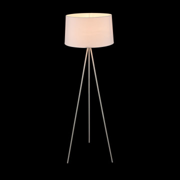 Торшер Freya Bonita FR5152-FL-01-W, 1xE27x40W, белый, металл, текстиль - миниатюра 5