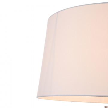 Торшер Freya Bonita FR5152-FL-01-W, 1xE27x40W, белый, металл, текстиль - миниатюра 6
