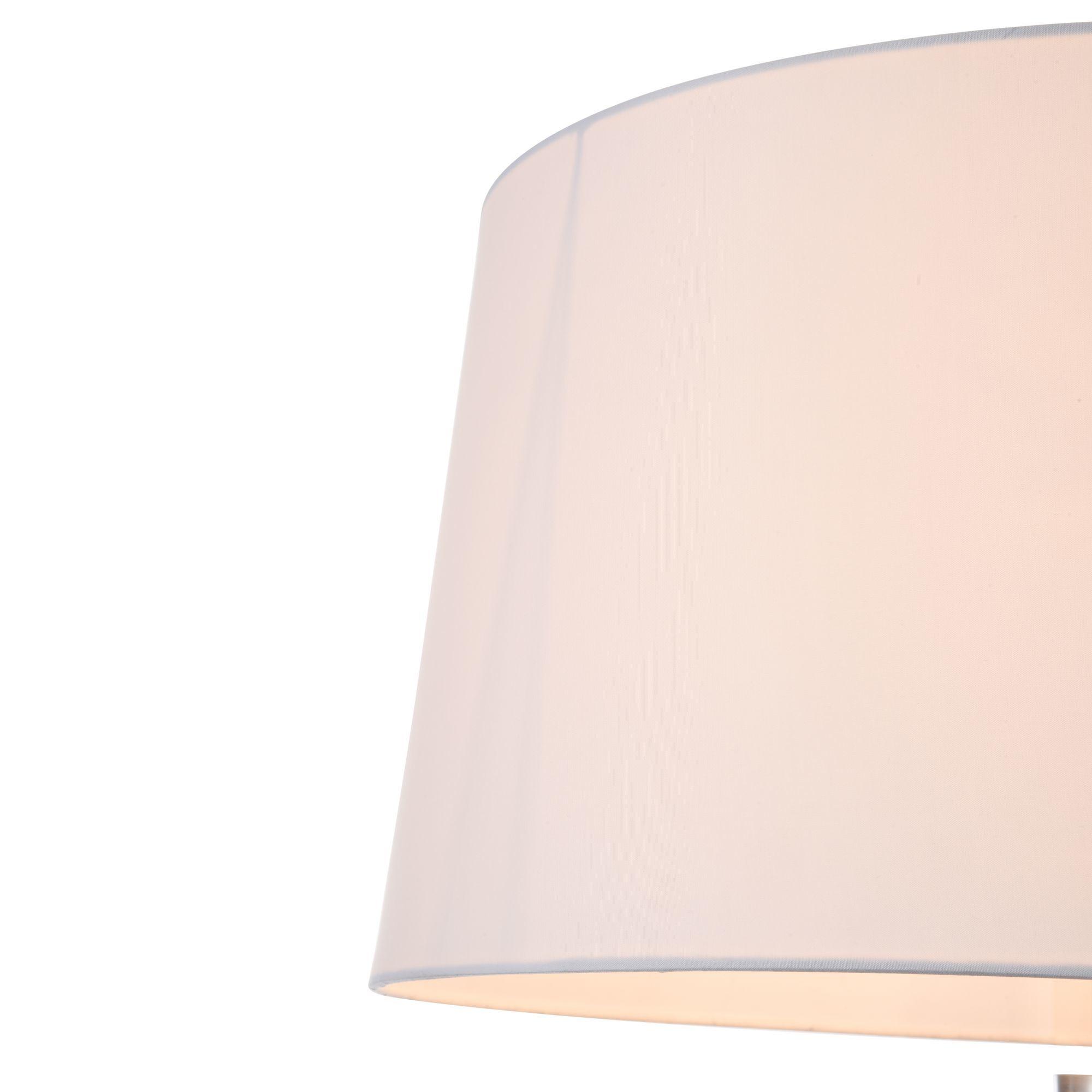 Торшер Freya Bonita FR5152-FL-01-W, 1xE27x40W, белый, металл, текстиль - фото 6