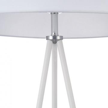 Торшер Freya Bonita FR5152-FL-01-W, 1xE27x40W, белый, металл, текстиль - миниатюра 7