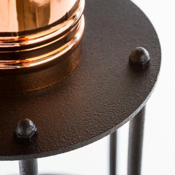 Бра Nowodvorski Workshop 6606, 1xE27x60W, медь, черный, металл - миниатюра 2