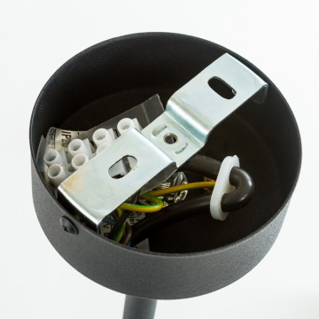 Люстра на составной штанге Nowodvorski Sticks 9735, 5xE27x60W, черный с медью, медь с черным, металл - миниатюра 5