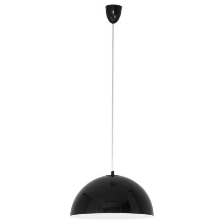 Подвесной светильник Nowodvorski Hemisphere 4838, 1xE27x100W, черный, белый, металл