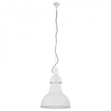 Подвесной светильник Nowodvorski High-Bay 5066, 1xE27x60W, белый, металл