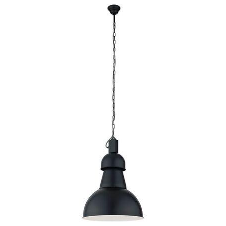 Подвесной светильник Nowodvorski High-Bay 5067, 1xE27x60W, черный, металл - миниатюра 1