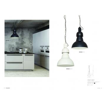 Подвесной светильник Nowodvorski High-Bay 5067, 1xE27x60W, черный, металл - миниатюра 2
