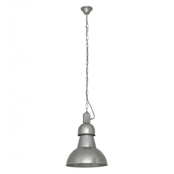 Подвесной светильник Nowodvorski High-Bay 5068, 1xE27x60W, серебро, металл