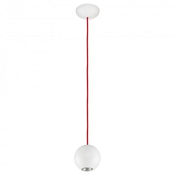 Подвесной светильник Nowodvorski Bubble 6024, 1xGU10x35W, белый, красный, металл