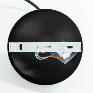 Подвесной светильник Nowodvorski Bubble 6031, 1xGU10x35W, черный, металл - миниатюра 2
