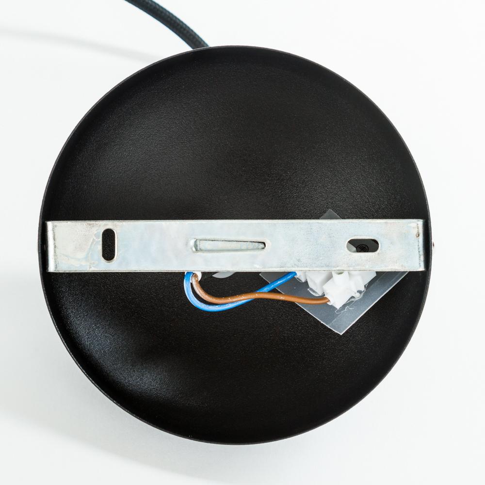 Подвесной светильник Nowodvorski Bubble 6031, 1xGU10x35W, черный, металл - фото 2