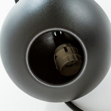 Подвесной светильник Nowodvorski Bubble 6031, 1xGU10x35W, черный, металл - миниатюра 3