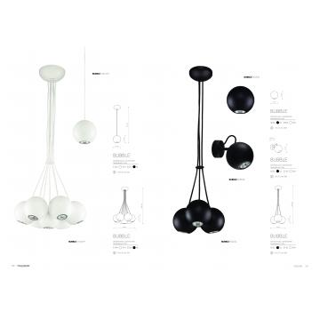 Подвесной светильник Nowodvorski Bubble 6031, 1xGU10x35W, черный, металл - миниатюра 5