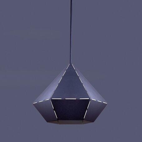 Подвесной светильник Nowodvorski Diamond 6344, 1xE27x60W, черный, металл