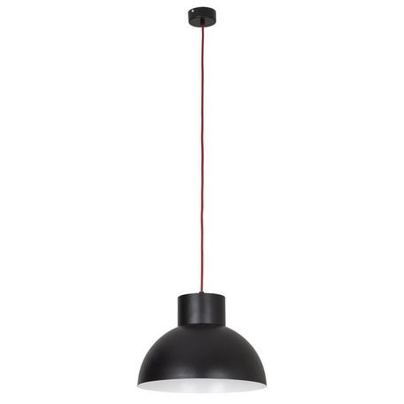 Подвесной светильник Nowodvorski Works 6507, 1xE27x60W, красный, черный, металл